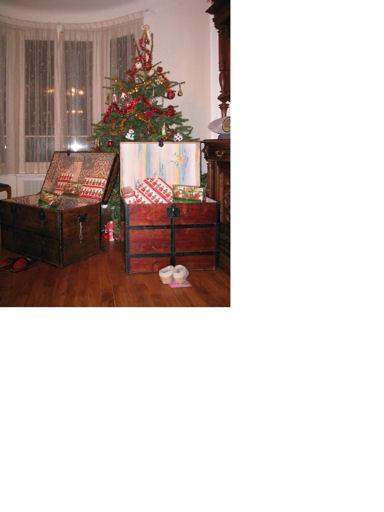 la malle en coin id es d coration. Black Bedroom Furniture Sets. Home Design Ideas