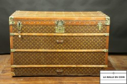 Malle courrier  haute  Louis Vuitton  monogram1