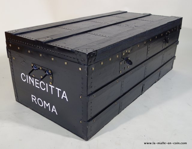 R2191 Malle plate noire CINECITTA ROME