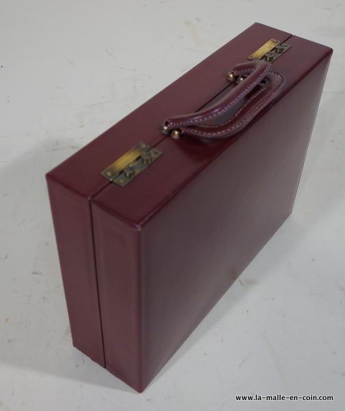 R2011 nécessaire de toilette valise cuir