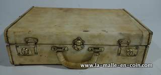 R1493 Valise / attaché case en peau