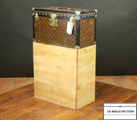 MTT2018-12 Malle Louis Vuitton monogram faite pour le rangement d'outillage automobile