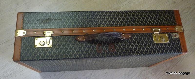 R486 Malle valise Goyard Wardrobe double penderie