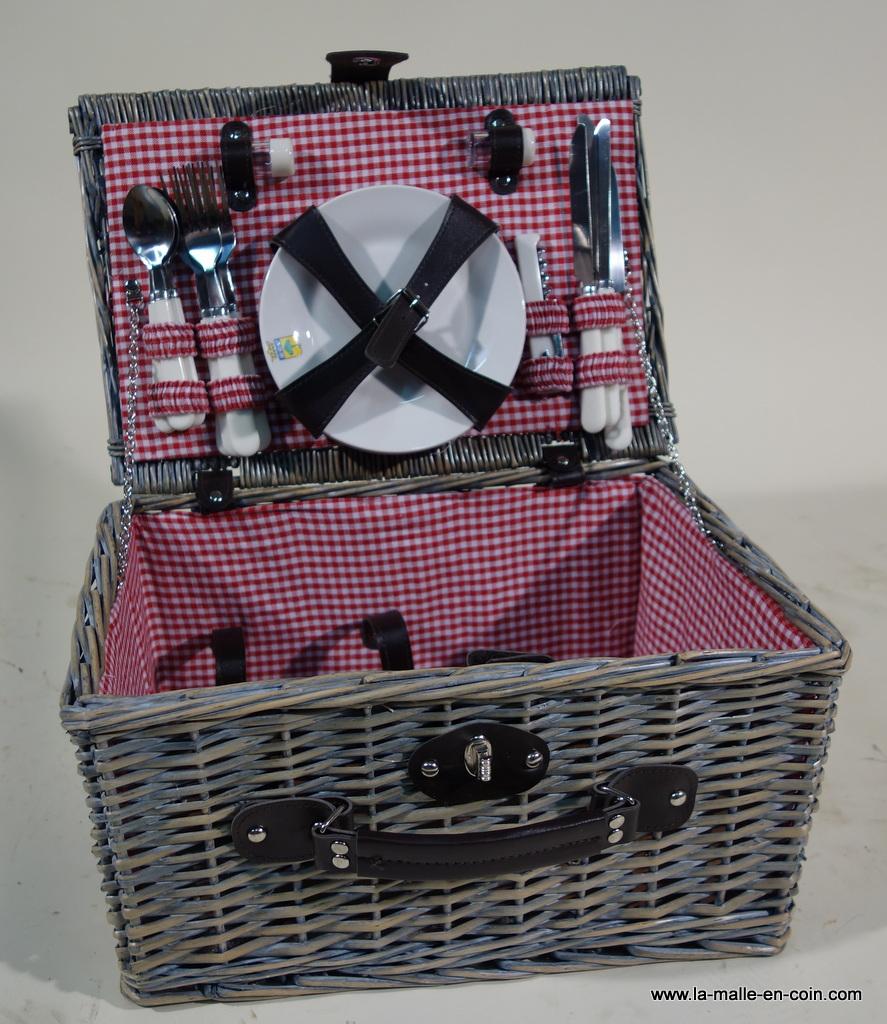 R1442 Picnic basket for 4