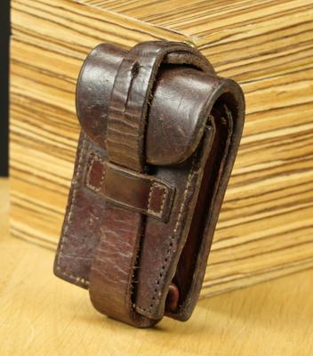 R2703  Pochette cuir pour ceinture