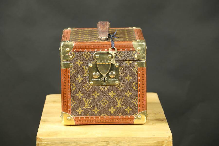 Vanity case  monogram  Louis Vuitton Avec clef R2775