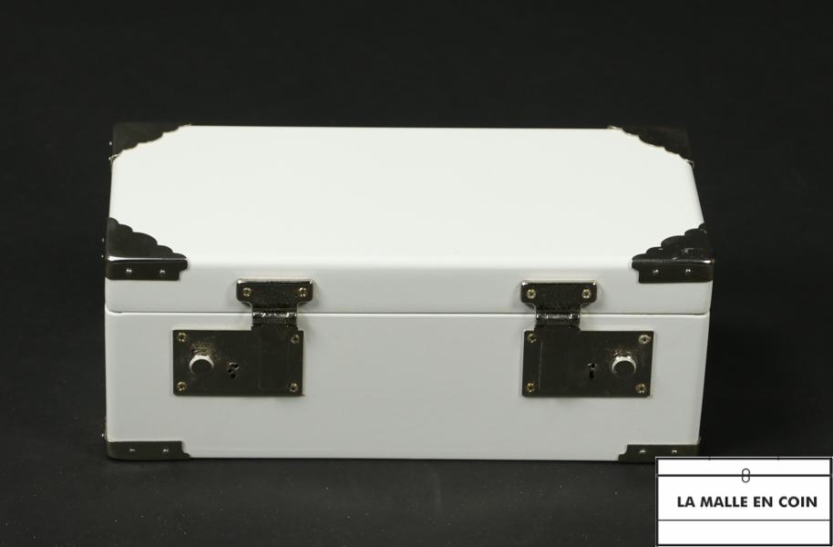 Malle Mini laquée blanche R2783