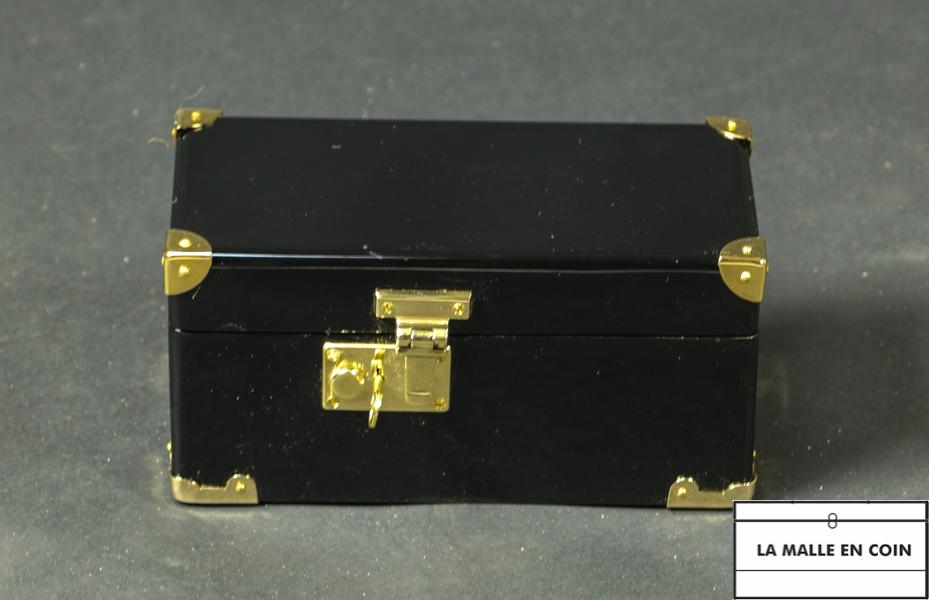 Mini Malle laquée noire R2784