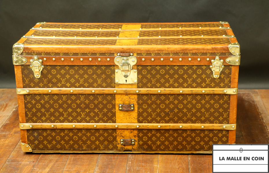Malle Vuitton courrier monogrammée, 1914-1924 (R2841)