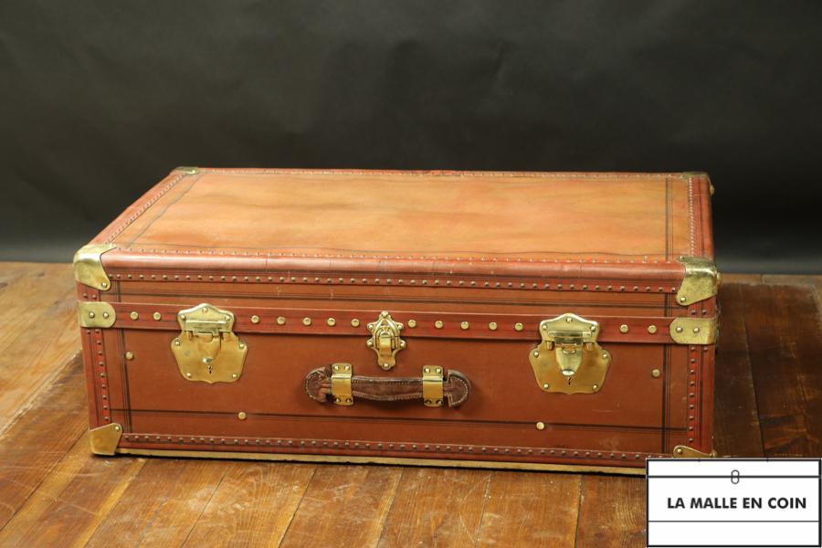 Malle  cabine laiton et  lozine  de marque   Werber lang   R2860