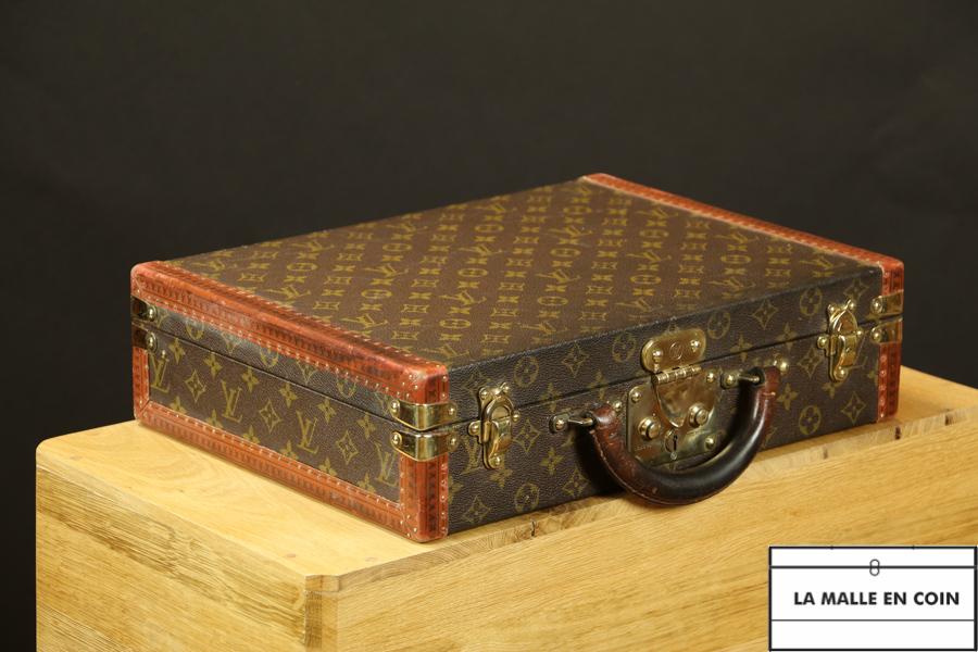 R2662 Attaché-case  Président Louis Vuitton monogram VENDU