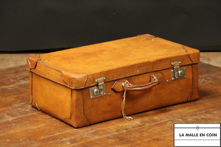 R2732 Valise cuir avec clef