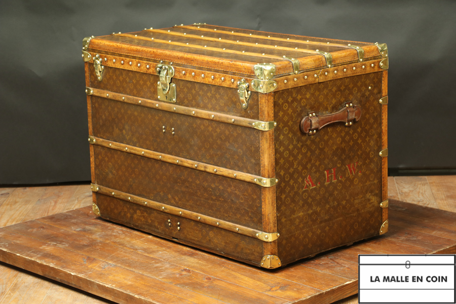 Malle Louis Vuitton courrier monogram  R2721  Réservée MR