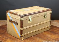 Moynat steamer trunk