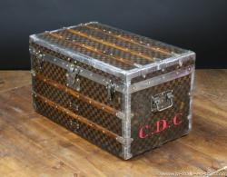 Louis Vuitton damier steamer trunk